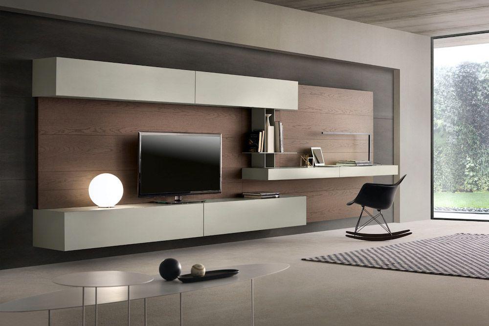 Ideas de decoracion del salon en blanco y madera